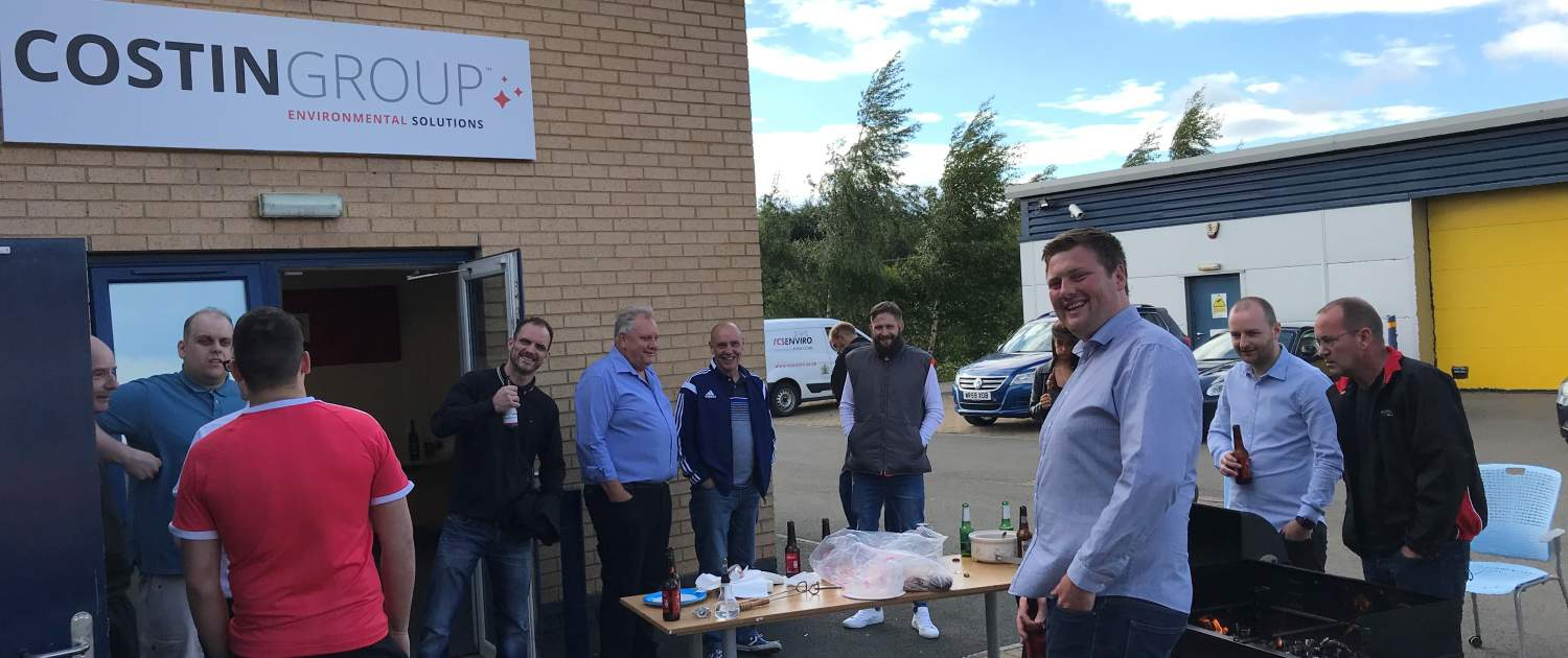 Costin Group - Our First BBQ!