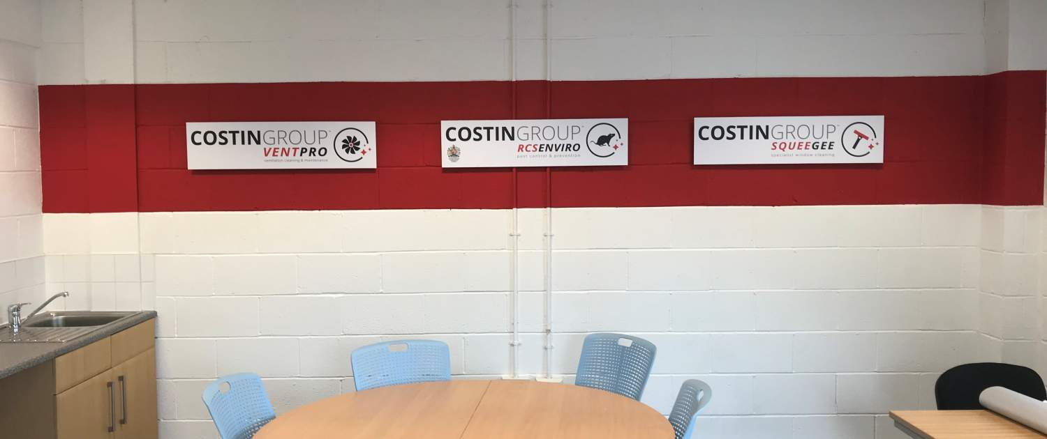 Costin Group - Our New Logos